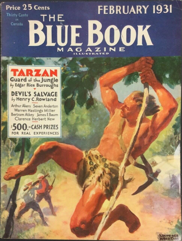 Blue Book February 1931